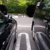 BMW 320dのサイドミラーの畳まれ方は国産車と比べて少し違う?