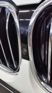 BMW 740i front camera