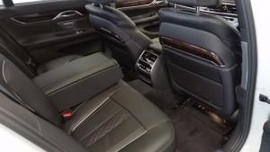 BMW 740i interior 04
