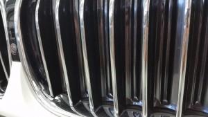 BMW 740i kidney grilles