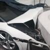 インドの高級ホテル配車係、ランボルギーニを自らの暴走で破壊するも「私は悪くない」と廃車係の鏡のような発言
