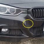 BMW 320d けん引フックの場所と取り付け場所