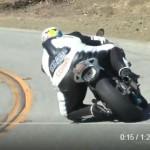 体重165kgの太めの彼が颯爽とBMW S1000RRを駆る動画