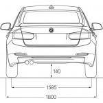 BMWの車幅推移をグラフ化してみた。1シリーズって昔の5シリーズより大きいんだ…