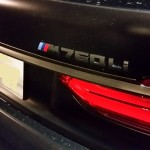 なんかすごいのが駐車場にいた。BMW 760Li 2500万円